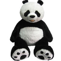 "Jumbo 53"" Plush Panda Bear Toys giant panda plush toy cute panda plush toy"