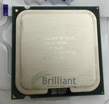 for Intel Xeon Processor E3110 3.00GHz, 6M,1333MHz LGA775