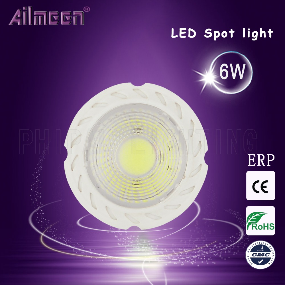 Foshan LED GU5.3 Holder LED indoor spot lamp 6W high luminious