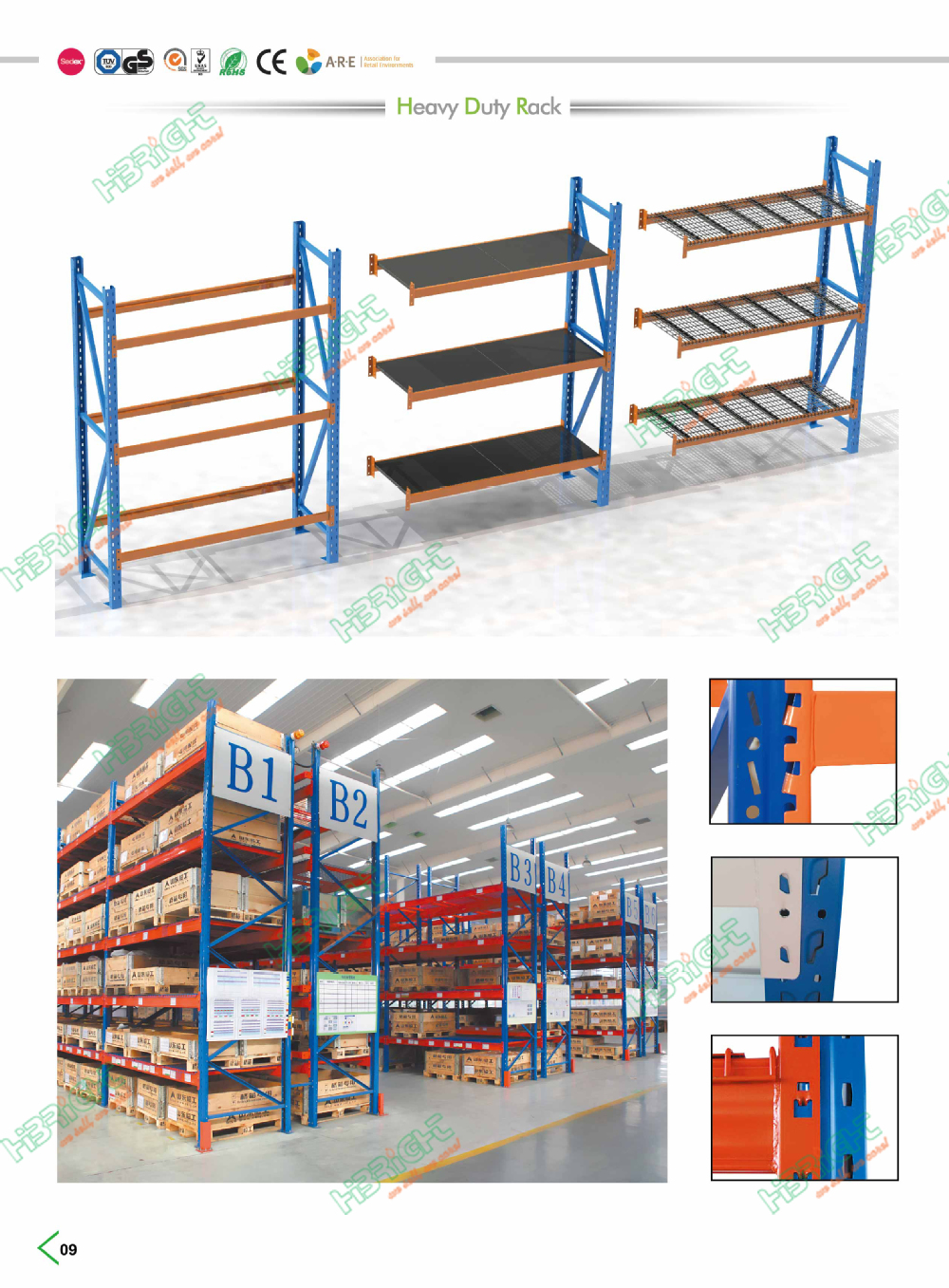 Heavy Duty Warehouse Storage Pallet Rack Shelving Buy