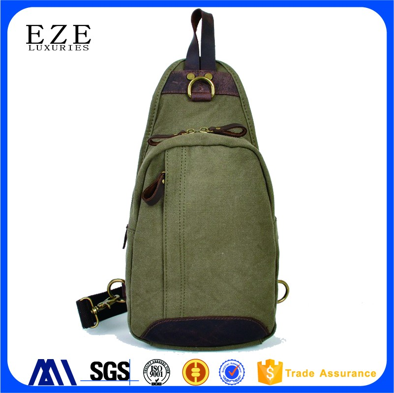 396d656c227 Practical Cool Outdoor Sports Casual Canvas Unbalance Backpack Crossbody  Sling Bag Shoulder Bag Chest Bag for Men