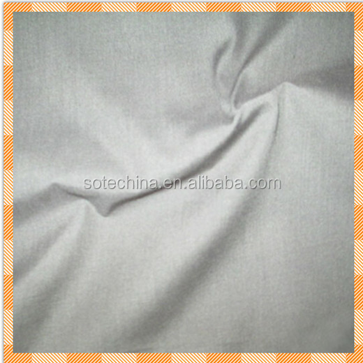 Factory direct selling low price100%cotton 21*21 108*58 plain dyed fabric used for shirt made in China