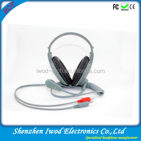 2014 ho tselling best choice for teaching multimedia language laboratory headphones