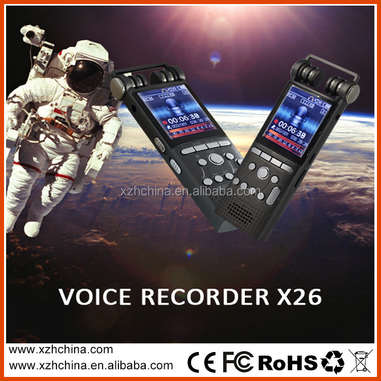 Sports professional recording pen digital voice recorder X26 8G sound MP3 recorder