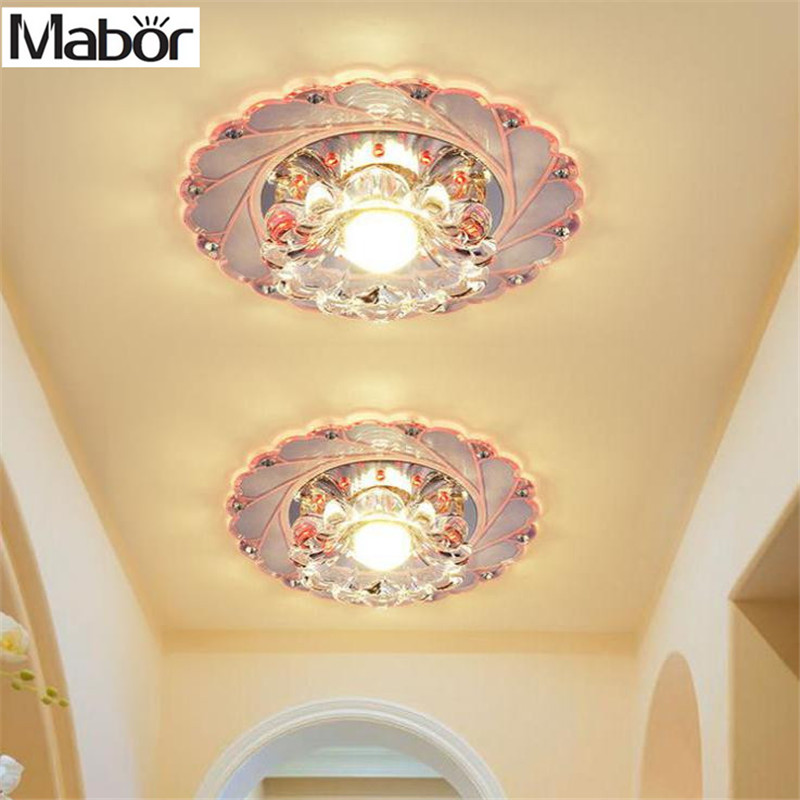 New Modern Crystal Led Saving Efficient Ceiling Blue Flower Light Superior Lamp Fixture Fashion Chandelier Lights & Lighting Ceiling Lights & Fans