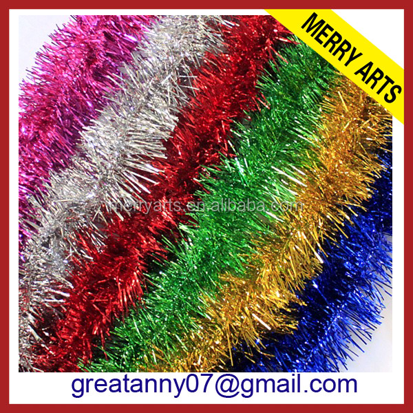 New 2016 high quality christmas cheap tinsel wigs wholesale