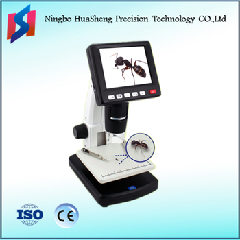 Xsz-277 Stand Alone 3.5 Inch Lcd Usb Digital Microscope With Lcd ...