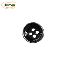 High quality long duration time zinc alloy clothes buttons button wooden