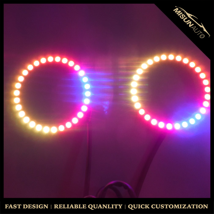 160mm Led Ring Halo 24 Bit 5050 Rgb Sequential Led Light (arduino / Ws2812b  / Neopixel Compatible) - Buy Sequential Led Light,Rgb Sequential Led