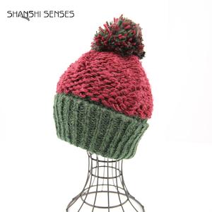 China Blocked Knitting Hat 256ed9194ff3