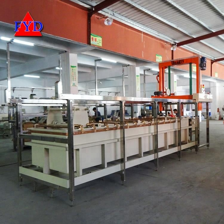 Copper Electroplating Equipment for Metal Electroplating Machinery