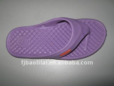 fashionable slipper with eva material