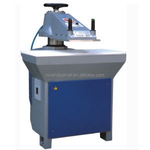 hydraulic leather swing arm cutting clicker shoe making machine slipper sole die press clicking machine