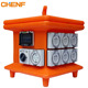 Outdoor industrial Power 3 phase Australia Waterproof Portable Electrical Distribution Board Box size