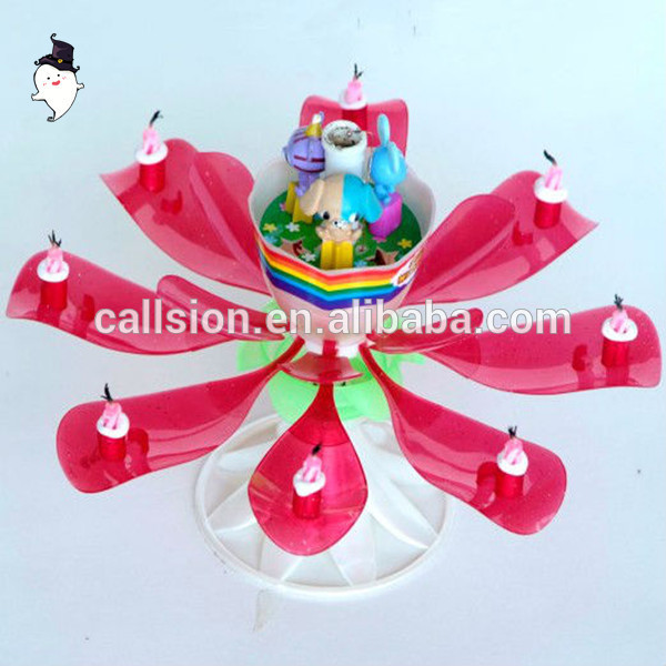 Latest designs professional new popular model birthday candles for cake