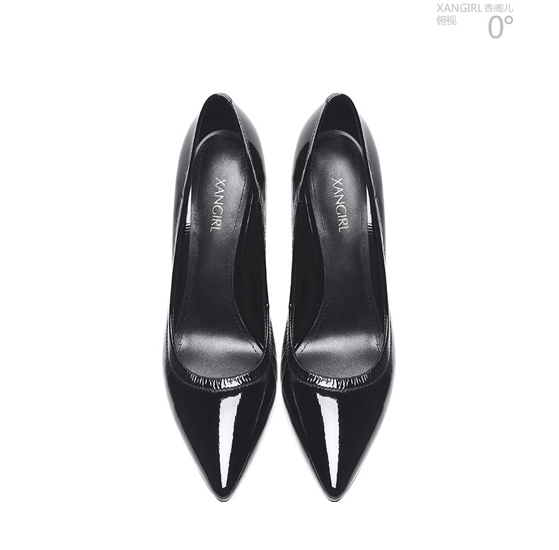 pointed women black shoes Hot stiletto heel sale toe AY8ZIq