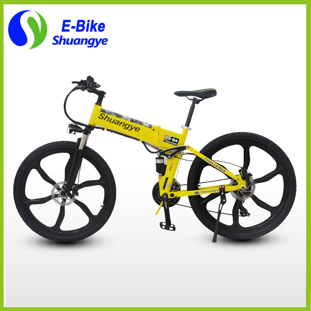 36v hidden lithium battery 26 inch foldable electric bicycle