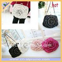 Flower Design PU Leather Handbag in Different Colors