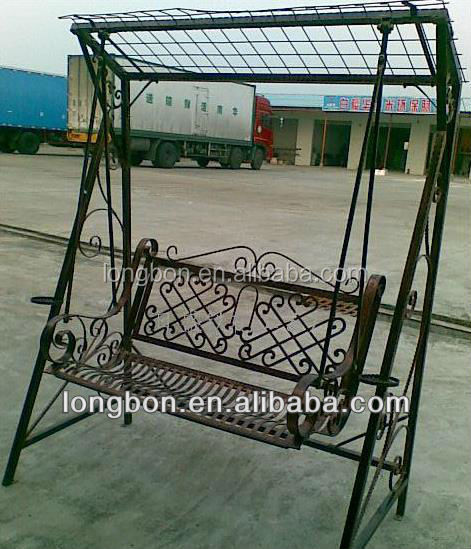 2014 Top Selling Outdoor Wrought Iron Garden Swing Seats Chair Design   Buy Wrought  Iron Garden Swing Design,Wrought Iron Fancy Swing,Iron Porch Swing ...
