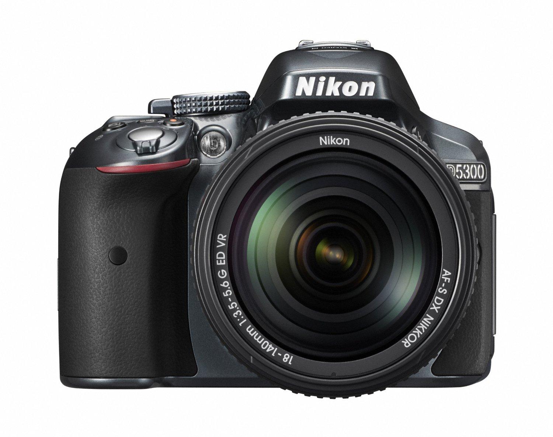 Nikon D5300 24.2 MP CMOS Digital SLR Camera with 18-140mm f/3.5-5.6G ED VR Auto Focus-S DX NIKKOR Zoom Lens - International Version (No Warranty)
