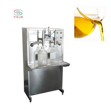 easy operation high precision Semi automatic double nozzles cooking oil/olive oil/oil filling machine