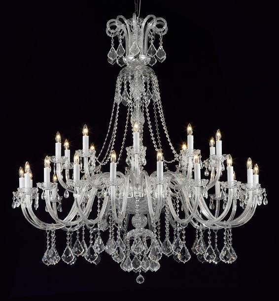 Style L0421-4530 new clear crystal K9 Chandeliers & lustres para quarto for sale