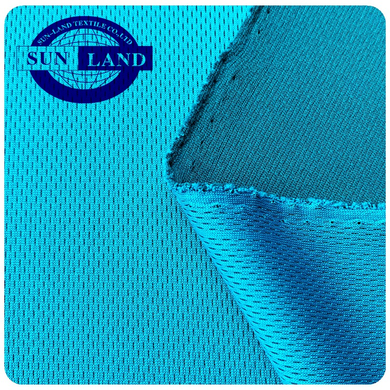 polyester cool Honeycomb mesh fabric for summer sportswear uniform