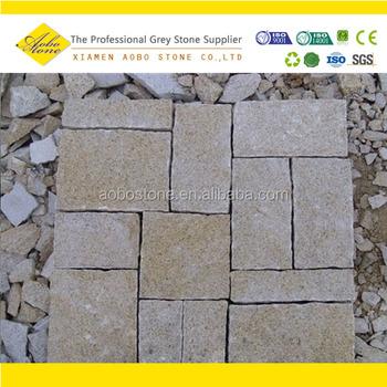 High Quality Rusty Yellow Granite Cube Stone Pineapple Buy X - 2x2 granite tile