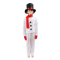 Hot Sale Snowman Christmas Cosplay Costumes For Kids Children Party