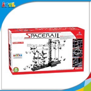 116PCS Intelligence Assembling Wind Space Rail For Kids DIY Rail Toy