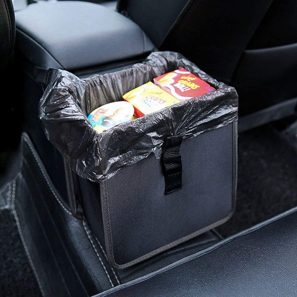 Handliche Bewegliche Wasserdichte Wurf Kleinigkeiten Organizer Hängen Auto Müll Tasche
