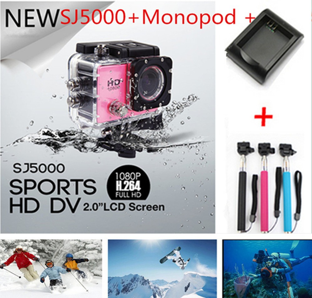 SJ 5000 2.0 LCD TFT 1080P Full HD Action Camera Diving 30M Waterproof Camera