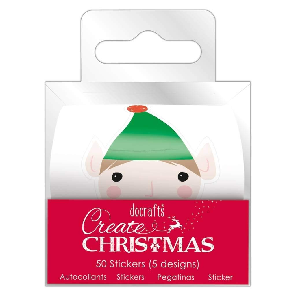 Get quotations · create christmas papermania decorative craft christmas icon stickers 50pcs