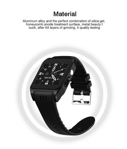 New Arrival 600mAh Large Capacity Battery 3G WiFi GPS Android Smart Watch Phone X86 Wristwatch Clock Hours