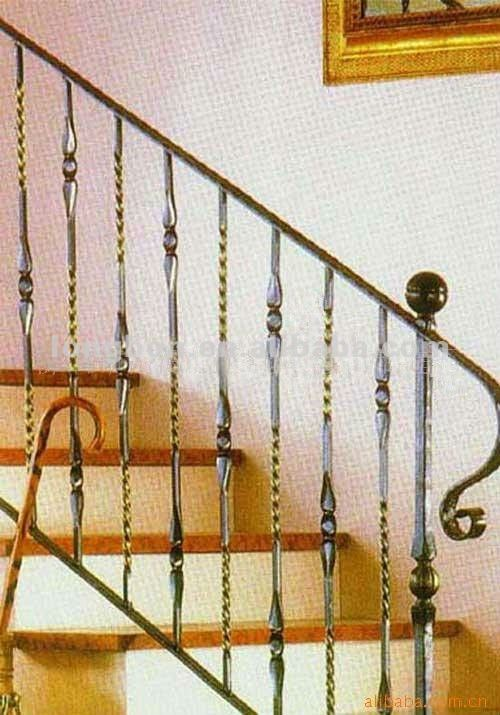 De mayor venta de hierro forjado escalera barandillas for Barandillas hierro forjado