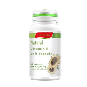 Anti-aging and Beauty Natural Vitamin E softgel capsules