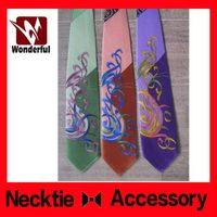 Fashionable unique printed necktie clothes for women
