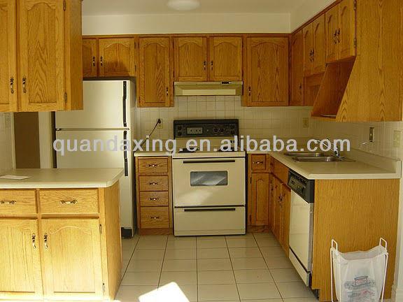 Muebles de cocina de arce con acabado esmaltado light gabinetes de cocina de madera maciza para - Acabados de cocinas ...