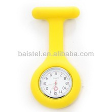 Yellow colours Silicone interchangeable nurse doctor watches