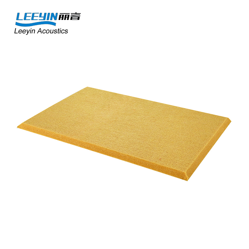 auditorium cinema polyester acoustic panel polyester felt fabric 9mm polyester fiber sheet