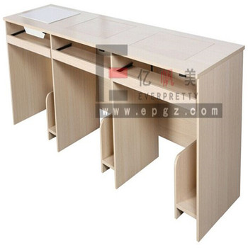 Holz Laptop Schreibtisch Schule Computertisch Für 3 Personen Buy