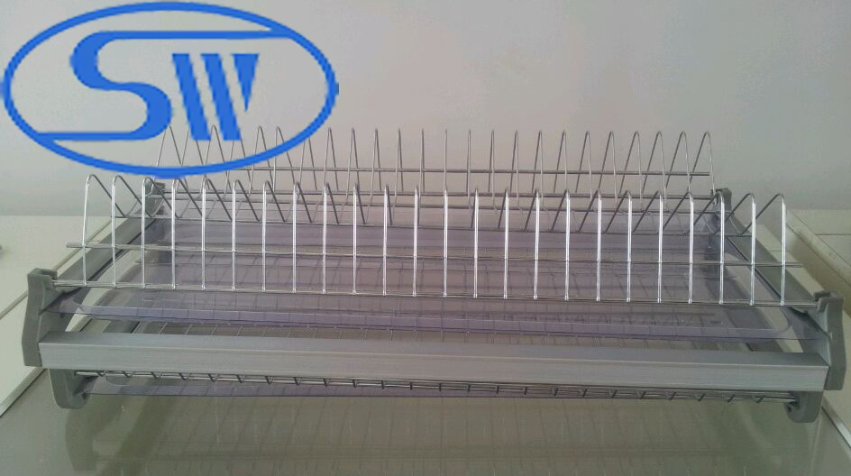 Wdj160 Guangzhou 201 304 Stainless Steel Dish Rack Commercial Kitchen Cabinet Whole