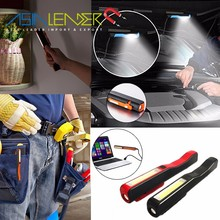 Top LED Brightbess / Side COB Brightness Rechargeable Inspection Lights