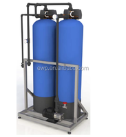 Pretreatment system sand filter+carbon filter for ro system and water filtration