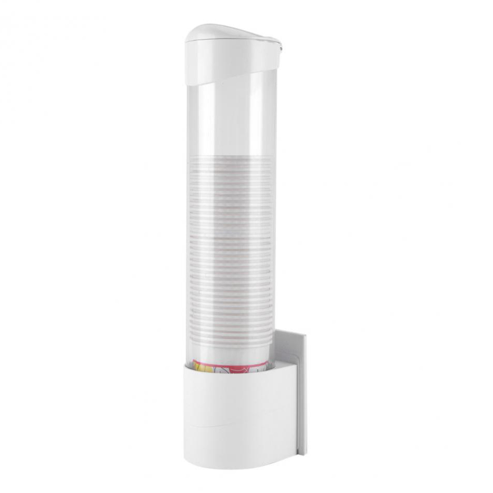 Plastic Automatic Water Paper Cup Dispenser With Mountable Magnetic Screw Bracket