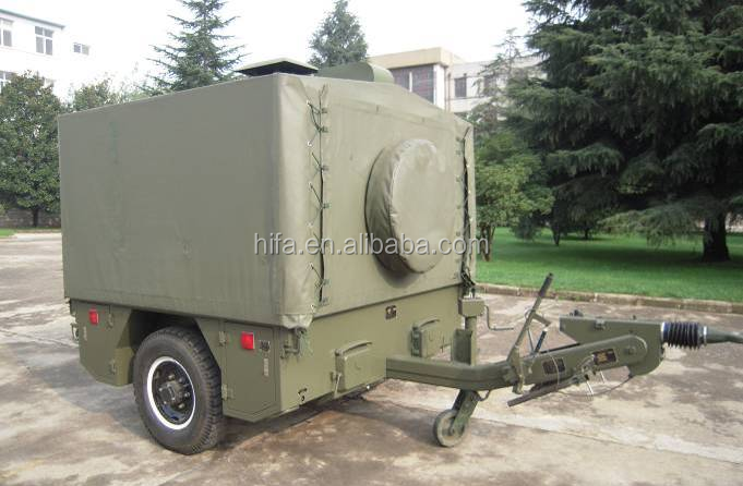 Military Armed Mobile Field Kitchen Trailer XC-150