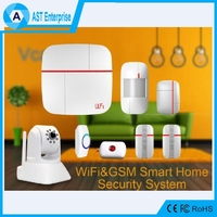 Vcare Smart GSM/WIFI Alarm System,Wireless Home Security Residential Alarm System with ip camera