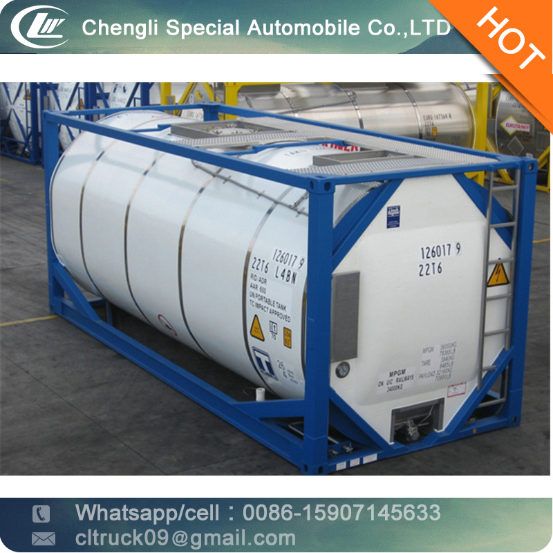 9feet Sodium Hypochlorite Storage Iso Tank Container - Buy Iso Tank ...