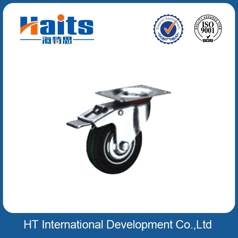 200mm ruedas de goma ruedas giratorias de goma para el - Ruedas giratorias para muebles ...