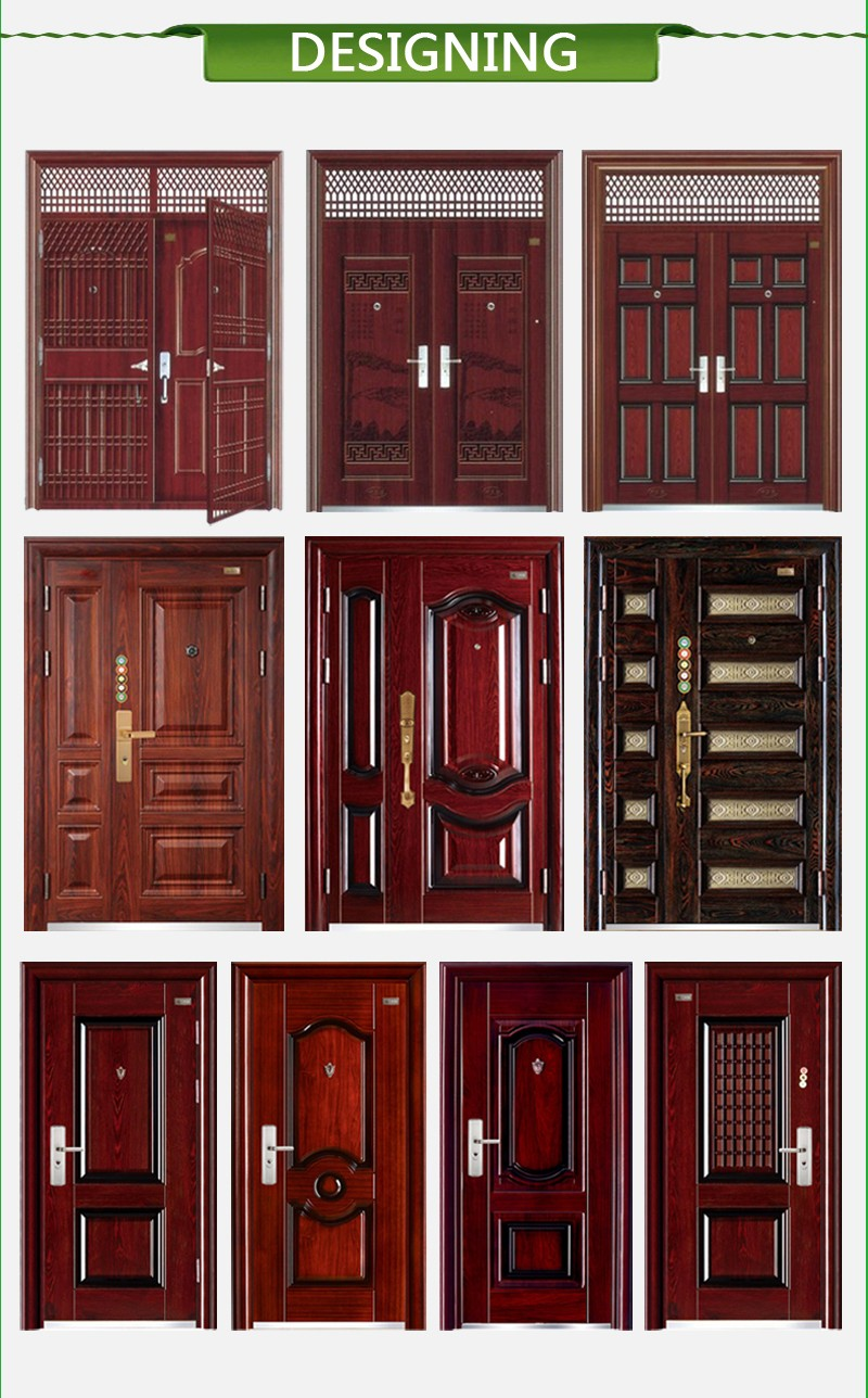 New model steel security doors exterior american entry for How much does it cost to have a house painted